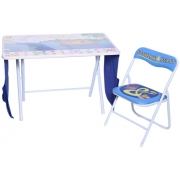 Wooden Fishing Feast Foldable Table and Chair