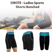 SIBOTE - Ladies Sports Shorts Bunched - ST-2016