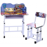 Wooden Spiderman Study Table and Chair