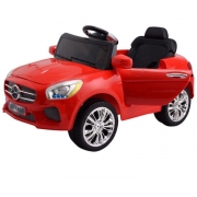 Costway Kids Ride On Car 6V Electric Battery Remote Control Radio Children Toys MP3 (Red)