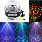 Bluetooth 6 LED Disco Dj Stage Lighting with remote