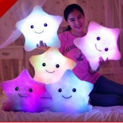 Star Pillow Glowing LED Luminous Light Pillow