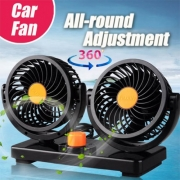 Double headed Vehicle Fan