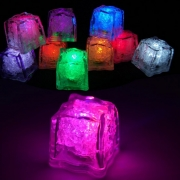 LED Light up Freezable Ice Cubes 12pc for AED 40