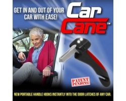 3-in-1 Auto Handle CarCane with Lights