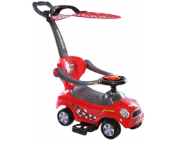 Rally Push Cart - Red