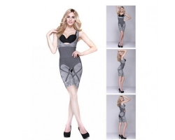 Women's Natural Bamboo Charcoal Slimming Body Shaper