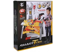 DIY Smart Tools 42 Pieces Set - Hammering and Nailing Toys