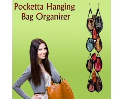 Ambra Umbra Pocketta hanging bag organizer