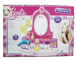 Barbie  Medium Vanity Studio, Multi Color