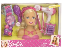 Barbie 83680 My Fab Stylin' Head, Multi Color