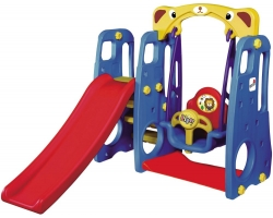 Tobee Kids 4 In 1 Slide With Swing