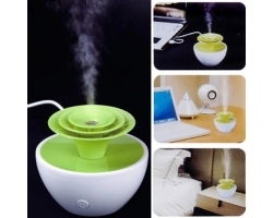 HAPTIME Ultrasonic Flower Mini USB Humidifier purifier