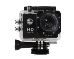 WATERPROOF SPORTS CAMERA - 30M, 1080P FULL HD, BLACK