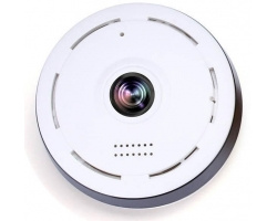 360 Degree HD Wifi Camera - White