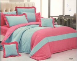 100% Cotton Comforter set-024