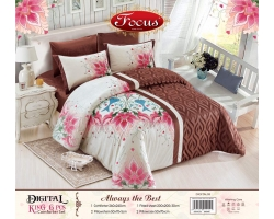 Digital King 6 pcs Comforter Set