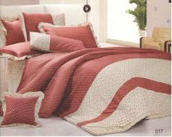 100% Cotton Comforter set-017