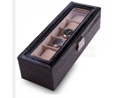 6 Piece Watch Box & Jewelry Organizer