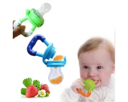 Kids Nipple Fresh Food Milk Nibbler Feeder