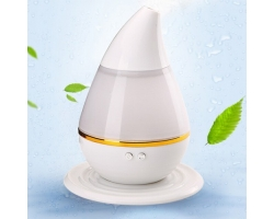 HM-01L water drop shape mini ultrasonic Humidifier for Car and Home
