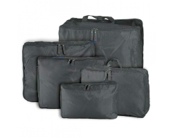 5 in 1 Travel Storage Bag Journey Organizer Grey