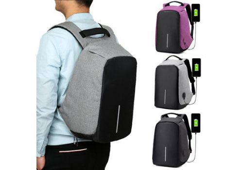 Anti-Theft Traveller Bag with USB Charger