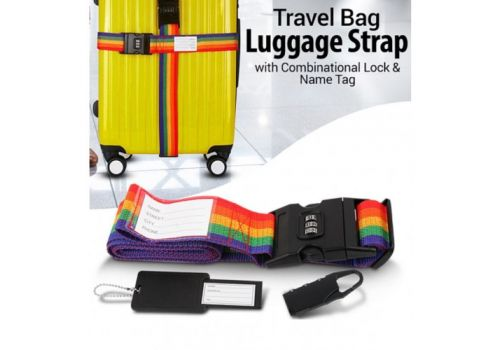 Luggage Strap Buckle with Security Password