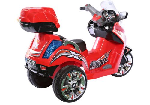 Rechargeable Motorcycle -Red
