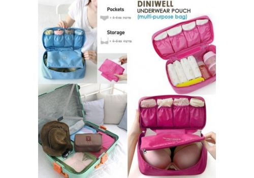 Underwear Tidy and organized Pouch Milky Sky