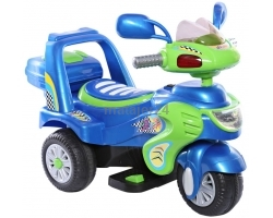 Rechargeable Motorcycle - Blue
