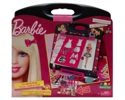 Barbie BARC011 Fashion Tabletop Easel, Multi Color