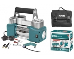 TOTAL AUTO AIR COMPRESSOR WITH LIGHT 12V (TTAC2501)