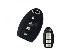 6N-4B Nissan 4 Button Silicone Car Key Case
