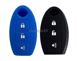 5N-3B 3 Button Nissan Silicone Car Key Cover Case
