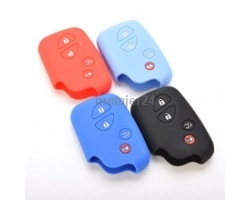 7LX-4B Lexus 4 Button Silicone Car key Cover
