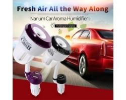 Nanum Car 2 Humidifier with 2 USB