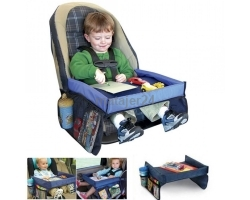 Snack & Play Travel Tray Perfect for Drinks & Snacks!